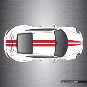 Porsche 991 Carrera Stripe Kit 007