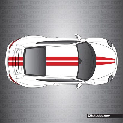 Porsche 991 Carrera Stripe Kit 007