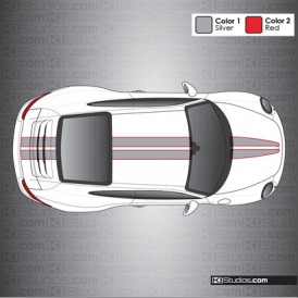 Porsche 991 Carrera Stripe Kit 008