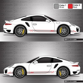 Porsche 991 Turbo Stripe Kit 005