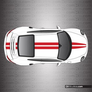Porsche 911 Turbo Stripe Kit 007
