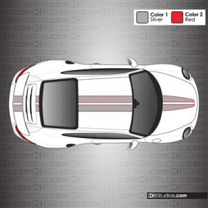 Porsche 991 Turbo Stripe Kit 008