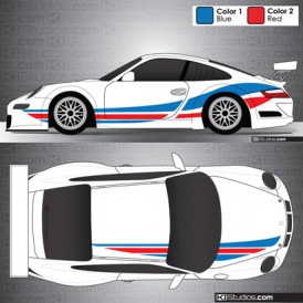 Porsche 911 GT3 Cup Car Graphic 001