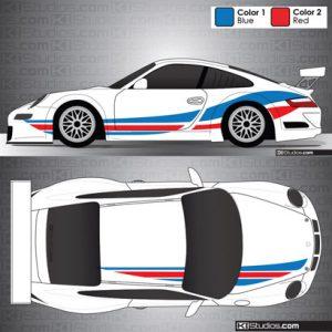 Porsche 911 GT3 Cup Car Graphic 001