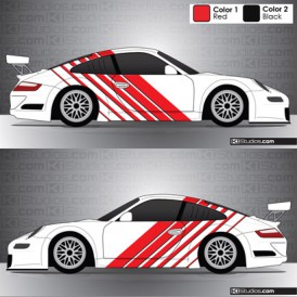 Porsche 911 GT3 Cup Car Graphics 002