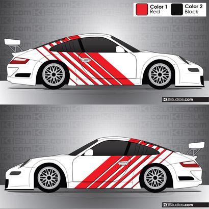 Porsche 911 GT3 Cup Car Graphics 002