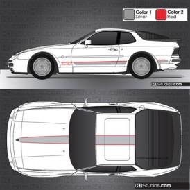 Porsche 944 Stripe Kit 001