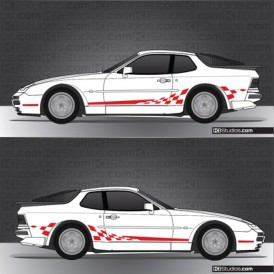 Porsche 944 Stripe Kit 002
