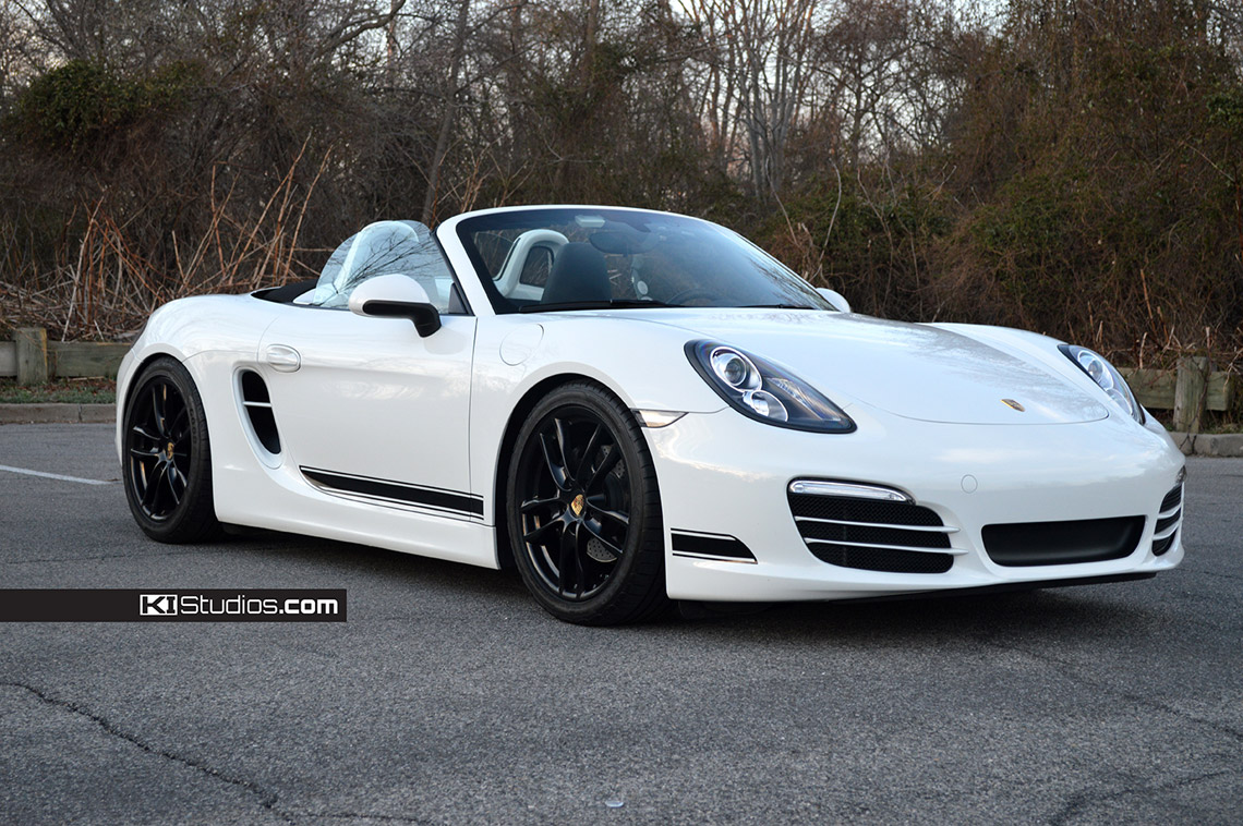 Ki Studios Simple Side Stripe Kit 001 For Porsche 981 Boxster