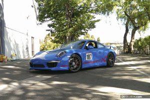 Porsche 991 Checker Stripes