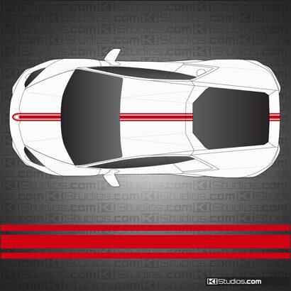 Lamborghini Huracan Stripe Kit 001