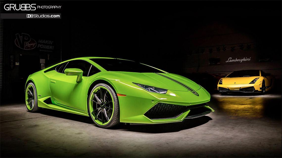 Lamborghini Huracan Single Color Top Stripes By Ki Studios