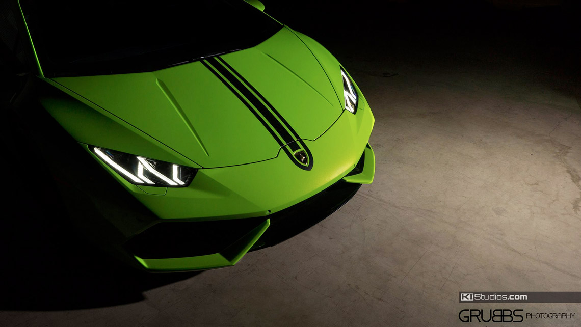 Lamborghini Huracan Single Color Top Stripes By Ki Studios