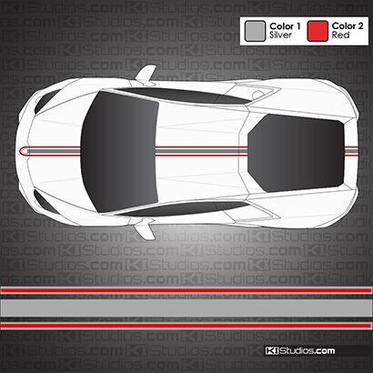 Lamborghini Huracan Stripe Kit 003