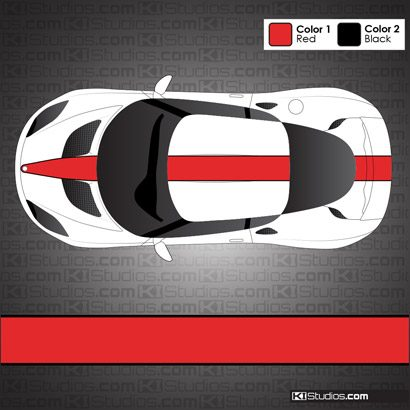 Lotus Evora Stripe Kit 002