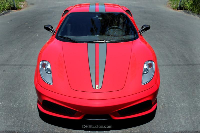 Ferrari F430 Scuderia Stripes For F430 Berlinetta Or