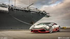 Navy Seal Lamborghini Huracan Wrap