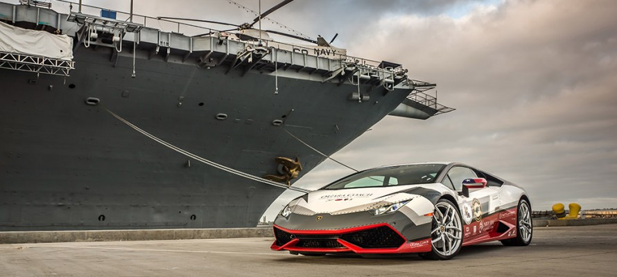 Huracan Navy Wrap Photo