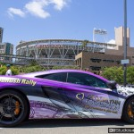 Mclaren wrap at petco park san diego