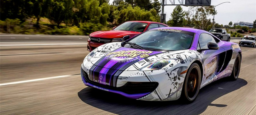 McLaren Wrap Taylor Lynn Foundation