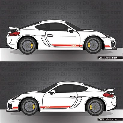GT4 Side Stripe Decal