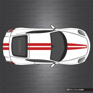 GT4 Racing Stripe Decals 006