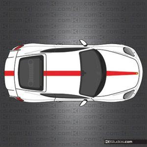 GT4 center stripe
