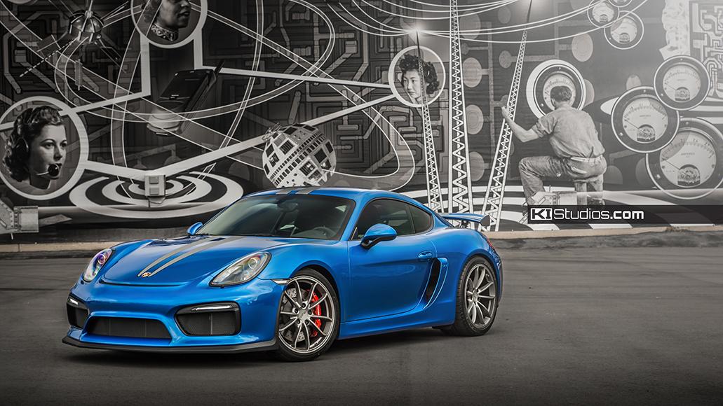 Porsche Cayman Gt4 Stripes By Ki Studios