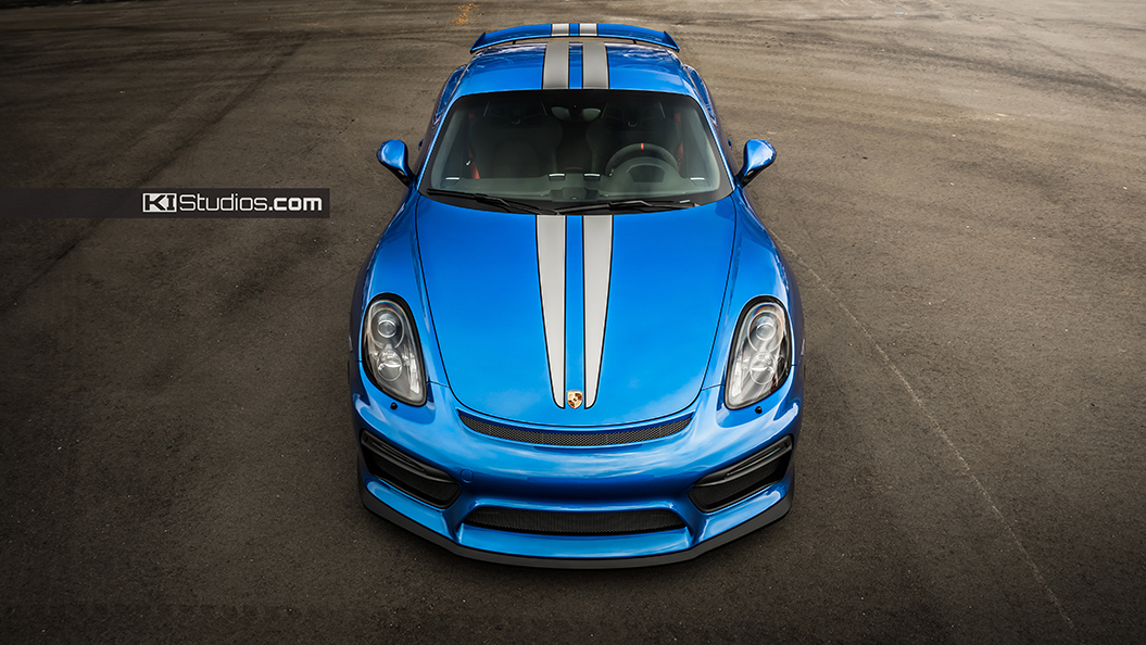 Porsche Cayman Gt4 Stripes By Ki Studios