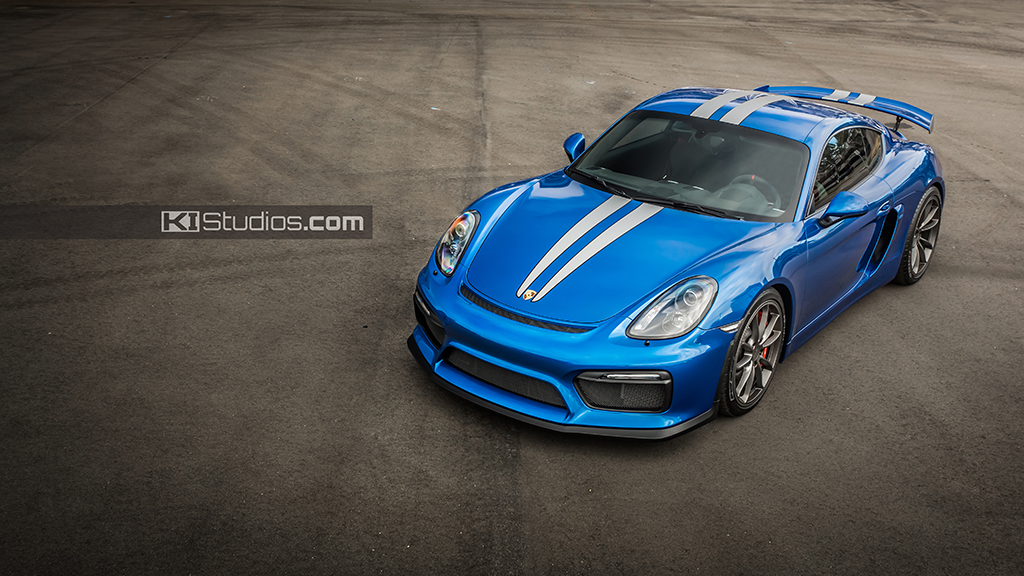 Car Wraps Cost >> Porsche Cayman GT4 Stripes by KI Studios