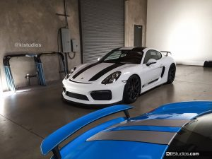 Porsche 981 GT4 911R Stripes - 4
