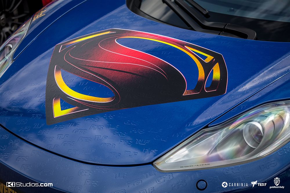 Super Hero Super Car Wraps - KI Studios