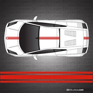 Lamborghini Gallardo Stripe Kit 001
