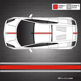 Lamborghini Gallardo Stripe Kit 002