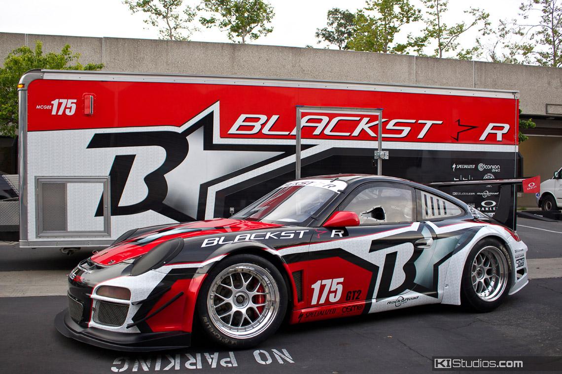 Team Blackstar Porsche 911 Cup Car Ki Studios
