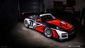 Blackstar Porsche 911 GT3 Cup Car - KI Studios