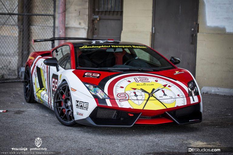 Lamborghini Gallardo Supre Trofeo Stradale in Blancpain Livery