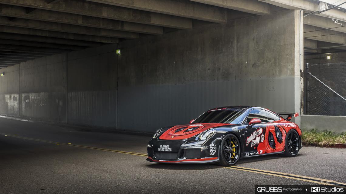 Deadpool Porsche 991 Gt3 Ki Studios