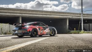 Porsche 911 GT3 Deadpool Superhero Wrap