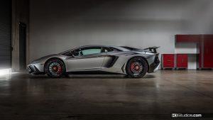 Lamborghini Aventador SV Side Profile - KI Studios