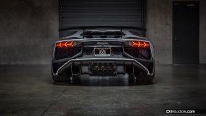Lamborghini Aventador SV Rear End - Xpel Clear Bra