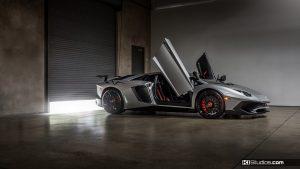 Lamborghini Aventador Superveloce Doors Up