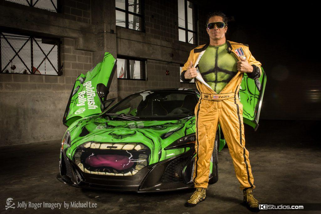 MacLaren 650S The Hulk Wrap for Gold Rush Rally