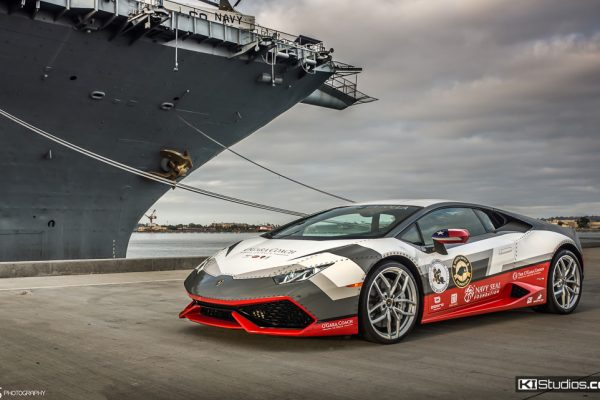 Navy Seal Foundation Lamborghini Huracan
