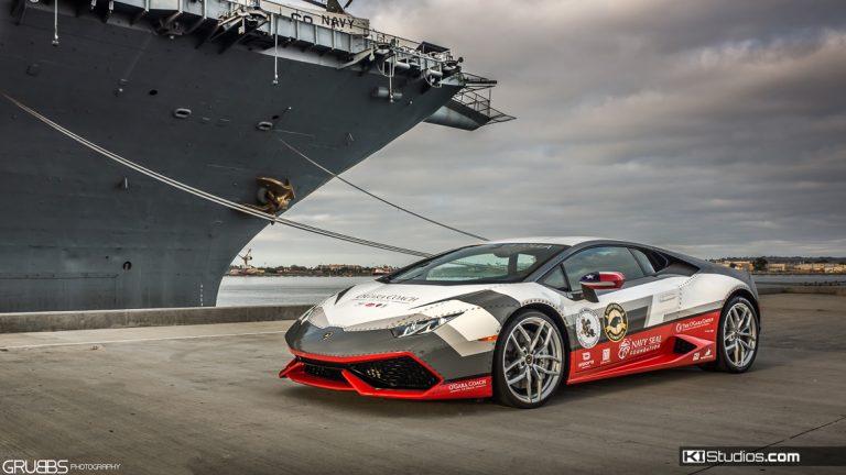 Navy Seal Lamborghini Huracan Vinyl Graphics Car Wrap