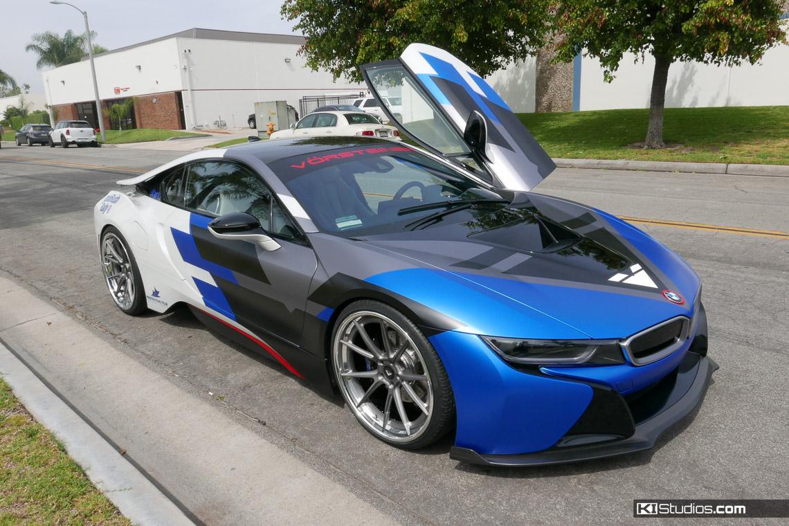 Vorsteiner Bmw I8 Car Layered Wrap Ki Studios
