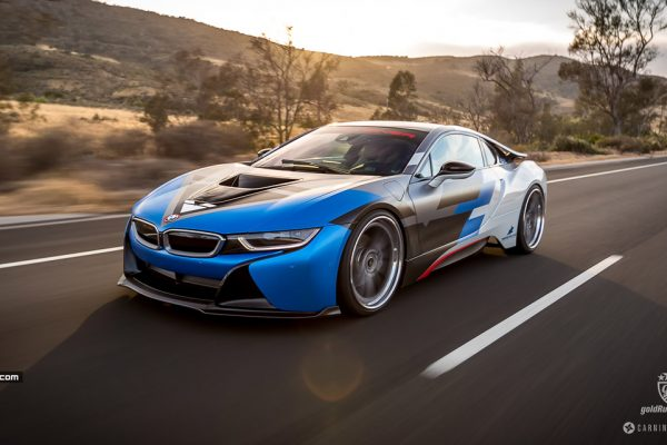 Vorsteiner BMW i8 in Action - KI Studios