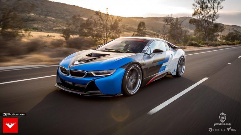 Vorsteiner BMW i8 in Action - KI Studios
