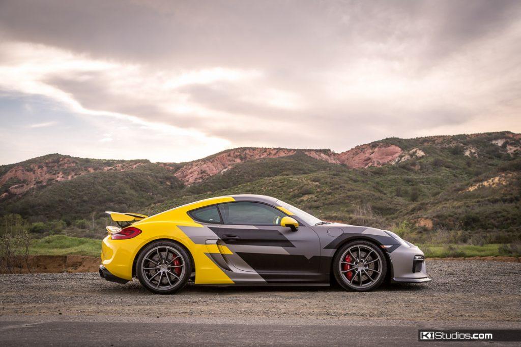 Vorsteiner Porsche Cayman GT4 Layered Graphics