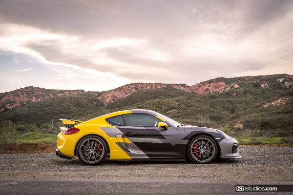 Vorsteiner Porsche Cayman GT4 Layered Graphics